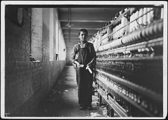 Chicopee, Massachusetts - Child laborer in Chicopee, 1911. Photo by Lewis Hine.