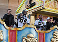 Tory Humphrey Pierre Thomas Saints victory parade.jpg