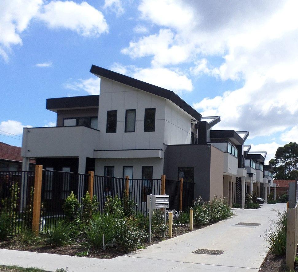 Townhouses in Victoria Australia