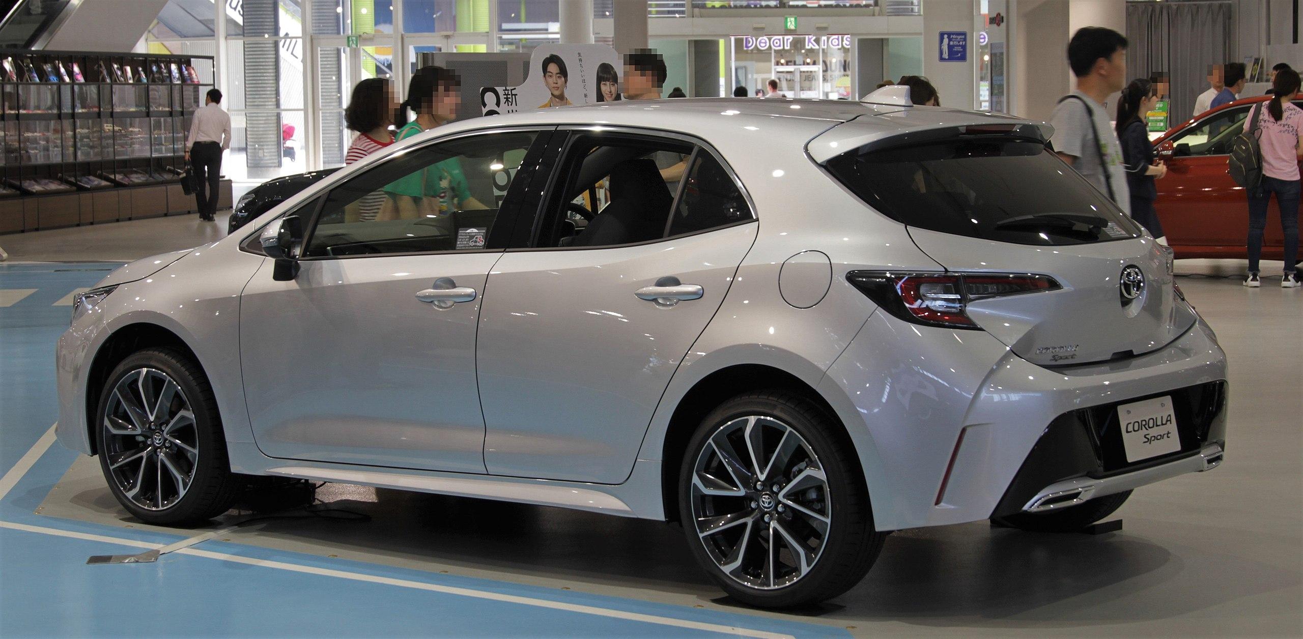 Toyota Corolla Sport rear.jpg