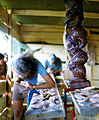 Traditional Maori carving workshop, at Nambassa.jpg