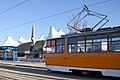 Tram in Sofia in front of Central Railway Station 2012 PD 055.jpg