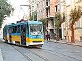 Tramway in Sofia in Alabin Street 2012 PD 017.jpg