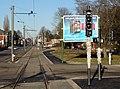 Travaux de la branche vers Vieux-Condé de la ligne B du tramway de Valenciennes en décembre 2013 (279).JPG