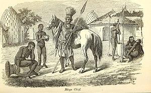 Musgum people - Musgu chief, ca. 1851