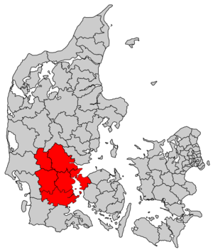 Triangle Region (Denmark) - Triangle Region (Trekantområdet) in Denmark