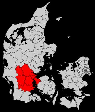 Triangle Region (Denmark) - Triangle Region (Trekantområdet) in Denmark