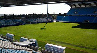 Stade Armand Cesari - Image: Tribune Petrignani (Vue de la Tribune Claude Papi)