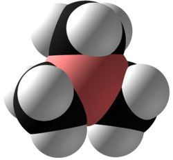 Trimethylborane Space Fill.png