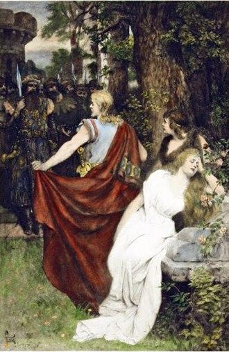 Tristan und Isolde - Tristan und Isolde by Ferdinand Leeke