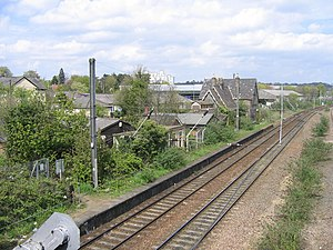 Trowse railway station - Image: Trowse station