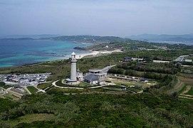 角島灯台空撮