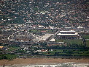 Kings Park Sporting Precinct - Aerial view of the precinct, under construction, 2009