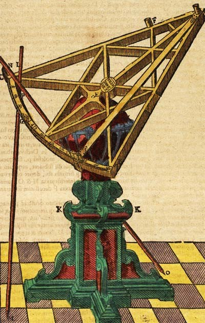 Tycho instrument sextant 16