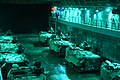 U.S. Marine Corps assault amphibious vehicles prepare to launch from the well deck of the amphibious transport dock ship USS Mesa Verde (LPD 19) in the Atlantic Ocean Dec. 14, 2013 131214-N-BD629-039.jpg