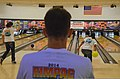 U.S. and multinational service members compete in a bowling competition in support of exercise Rim of the Pacific (RIMPAC) 2014 at the bowling center at Joint Base Pearl Harbor-Hickam, Hawaii, June 30, 2014 140630-N-RN782-045.jpg