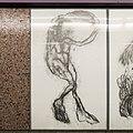 U2 Museumsquartier Kunst Bahnsteig 2 Zeichnung 02 Die Umfassende.jpg