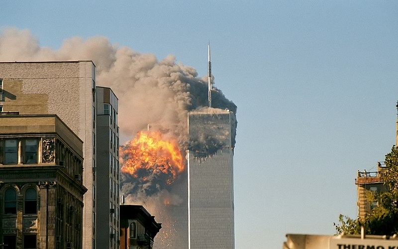 File:UA Flight 175 hits WTC south tower 9-11.jpeg