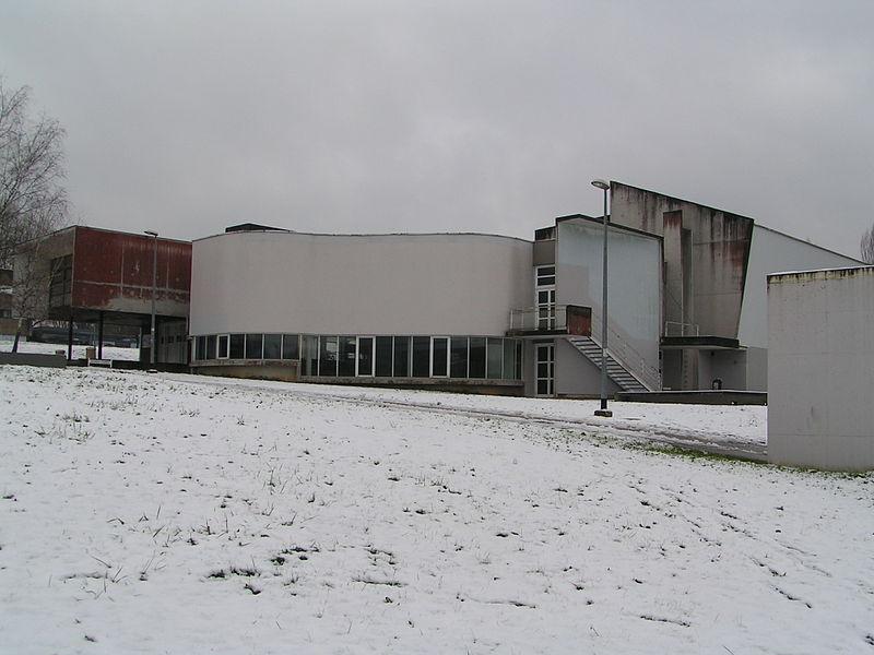 Le bâtiment Fourier de l'UFR-SJEPG de Besançon (Doubs, France).