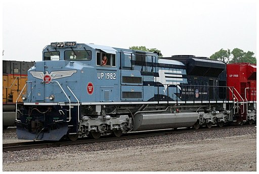 UP 1982 EMD SD70ACe