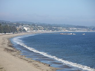 Aptos, California - Seacliff State Beach and S.S. Palo Alto