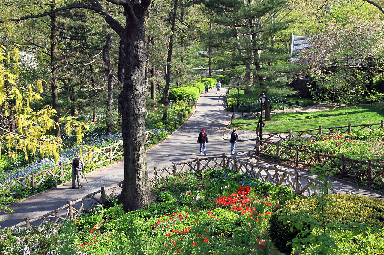 File Usa Nyc Central Park Shakespeare Garden0 Jpg Wikimedia Commons