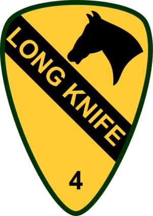 English: 4th Brigade Combat Team, 1st Cavalry ...