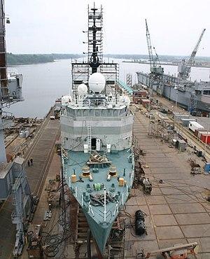 USCGC Tampa (WMEC-902) - USCGC Tampa - undergoing refit.