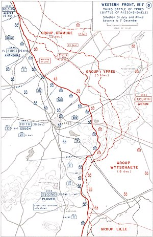 Battle of Passchendaele - Image: USMA Third Battle of Ypres