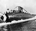 Launch of USS Albacore