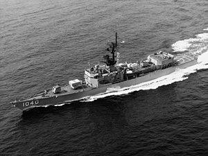 USS Garcia (FF-1040) - USS Garcia