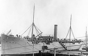 Collier (ship) - Image: USS Merrimac 19 N 19 18 4
