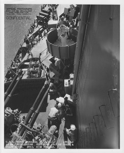 USS North Carolina portside 40mm gun NARA 19LCM-BB55-4881-42.tif