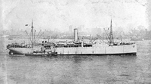 SS Pennsylvanian, seen here as USS Scranton (ID-3511) in 1919