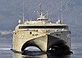 US Navy 100324-N-0780F-069 High Speed Vessel Swift (HSV-2) arrives in Souda Bay for a routine port visit.jpg