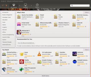 Ubuntu Software Center Ubuntu software distribution platform