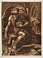 Ugo Carpi d'après Le Parmesan Diogène, vers 1526.jpg
