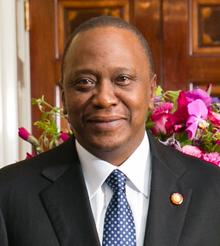 Uhuru Kenyatta nel 2014