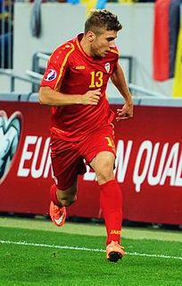 Stefan Ristovski (footballer, born February 1992) Macedonian football player