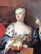 Ulrica Eleanor of Sweden (1688) c 1725 by Georg Engelhard Schröder.jpg