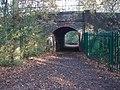 Underpass - Railway Line Sutton Park - geograph.org.uk - 1575764.jpg