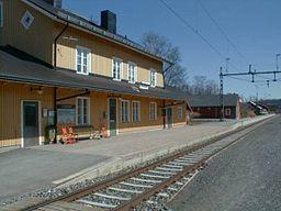 Stationen i Undersåker, byggd 1882