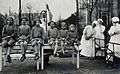 University Children's Hospital, Vienna; a row of girl patien Wellcome V0029025.jpg