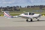 University of New South Wales (VH-UNH) Diamond Star DA-40 at Wagga Wagga Airport.jpg