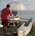 Unknown plein air painter Cove Park Maui.jpg
