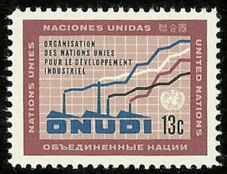 United Nations Industrial Development Organization - ONUDI in French and Spanish