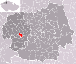 Location of Úpohlavy