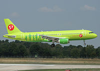 VP-BDT - A320 - S7 Airlines