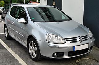 Volkswagen Golf Mk5 car model