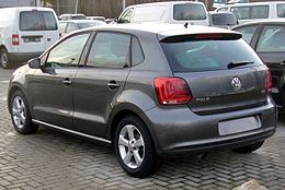 VW Polo V 1.6 TDI Highline Peppergrey Heck.JPG